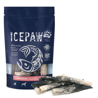 ICEPAW Snacks salmon sticks 100g