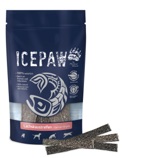 ICEPAW Snack Salmon Stripes 15 pcs