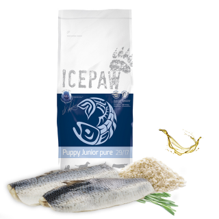 ICEPAW Puppy Junior Pure Dry Food 15kg