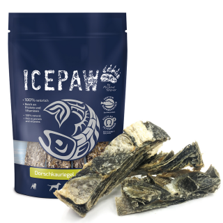 ICEPAW Snack Cod Chewing Bar 100g