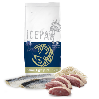 ICEPAW Senior Light  pure Trockenfutter 15kg