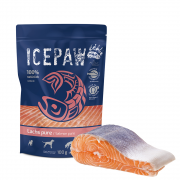 ICEPAW Salmon pure 100g - 100% natural