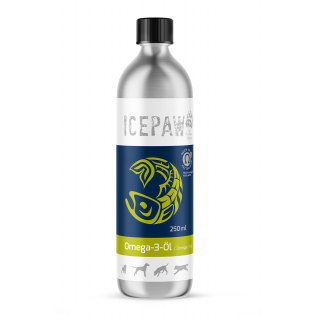 ICEPAW Omega-3 oil 250 ml