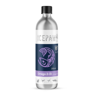 ICEPAW Omega 3 Oil 250ml for cats