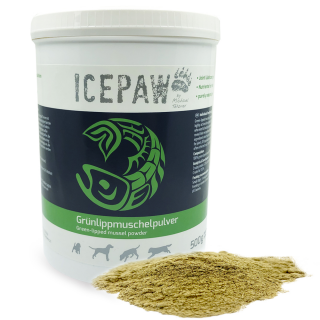 ICEPAW Green-lipped Mussel Powder 100% - 500g